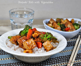 Teriyaki Tofu with Vegetables