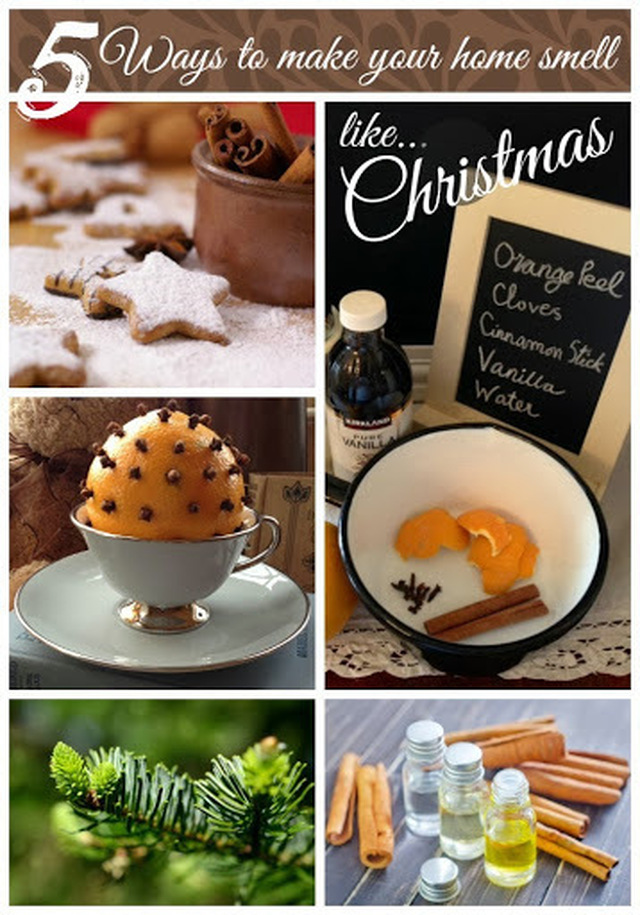Five festive ways to make your home smell like Christmas!