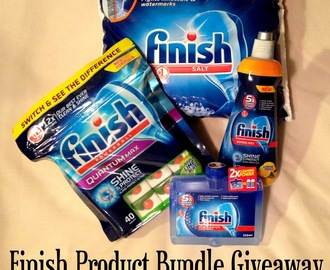 Finish Product Bundle Giveaway & My Ultimate Dinner Party