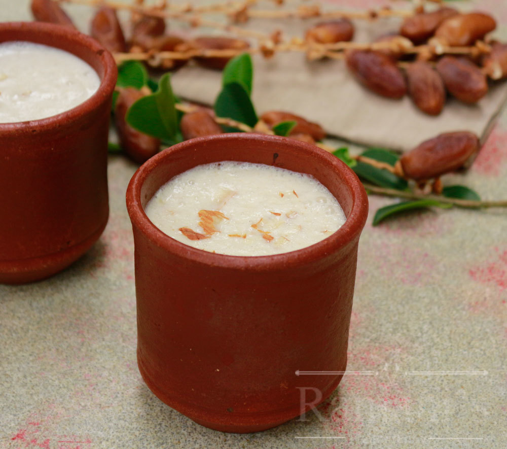 Dates lassi recipe | how to make dates lassi recipe