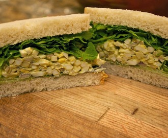 Sandwich Bread Recipe and Curried Egg Salad