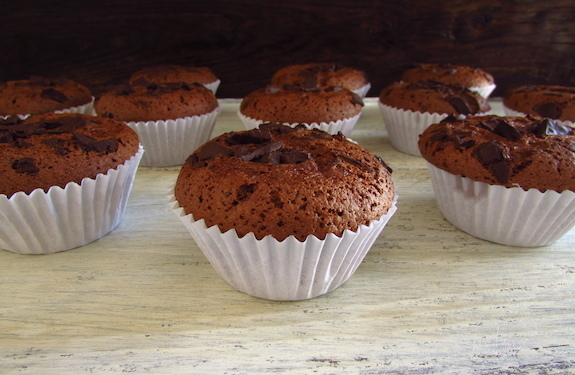 Chocolate muffins | Food From Portugal