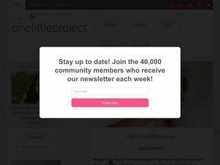 onelittleproject.com