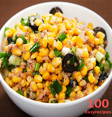 Easy Tuna Corn Salad