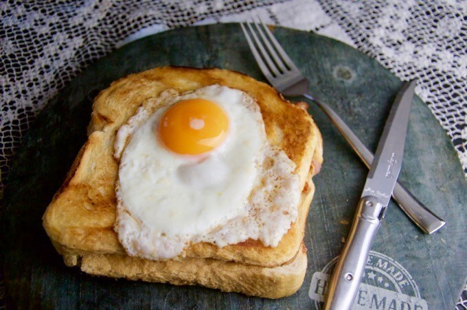 Recept Croque Madame