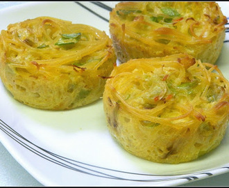 My Meatless Mondays - Cabbage and Noodle Kugel