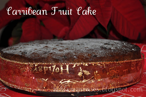 Caribbean Fruit Cake for Christmas!!