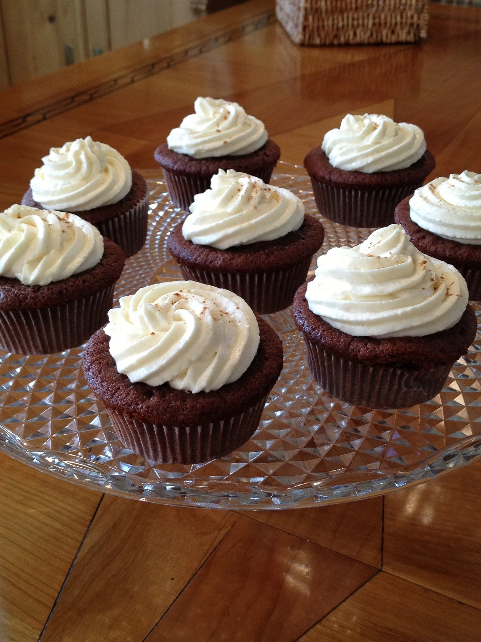 Chocolate Chai Cupcakes