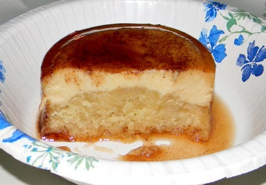 Bananas Foster Impossible Cake - Holiday Dessert Test #1