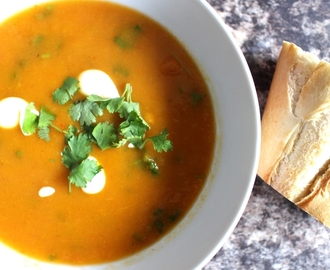 Recipe: Spicy Sweet Potato Soup