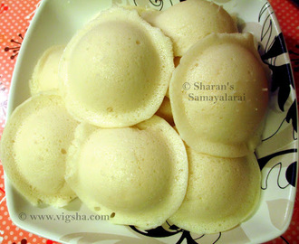 Idli - Traditional Method