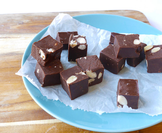 Skinny Six: Healthy chocoladefudge