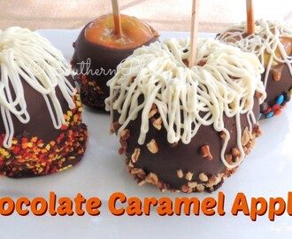 Chocolate Caramel Apples – and Determination (cane. step. step.)