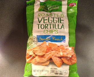 Review: Green Giant Garden Ranch Roasted Veggie Tortilla Chips