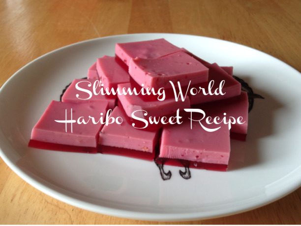 Slimming World Haribo Sweet Recipe