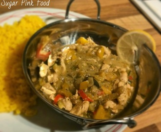 Slimming World Recipe:- Thai Green Curry