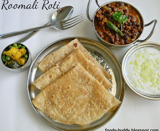 ROOMALI ROTI RECIPE / QUICK RUMALI ROTI