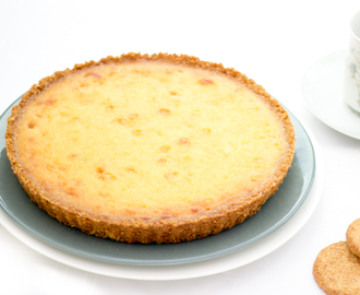 White Chocolate & Lemon Tart