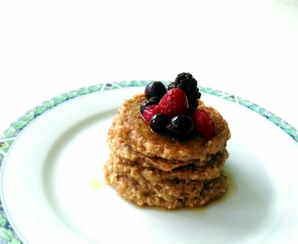 Food: Banana-Oatmeal Pancakes