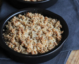 Recept: Warme Paleo crumble