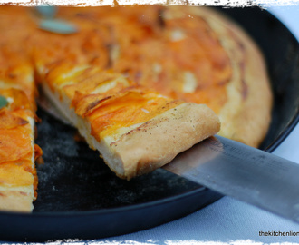 Tuesdays with Dorie - Focaccia with Butternut Squash and Winter Sage