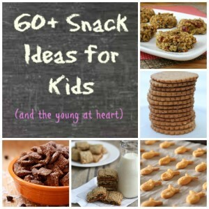 60+ Snack Ideas for Kids {and the young at heart}