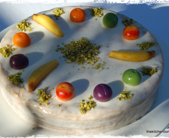 CAKES & VEGETABLES - PART I - CARROT - European-Style Carrot Cake