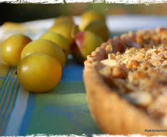 CAKES AND FRUITS - PART V: Mirabelle Plum Tart with Honey Streusel