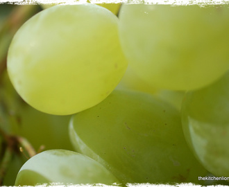 "CAKES AND FRUITS - PART III: Green Grape Tart - ""Tarte mit grünen Trauben"""