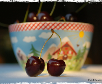 Dorie´s Recipe and my Photo were published in a Dutch Magazine - Some Days Life is just a Bowl of Cherries