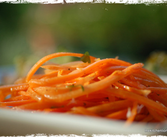 French Fridays with Dorie - Café-Style Grated Carrot Salad