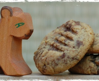 Peanut Butter and Nutella Cookies - A Child´s Play