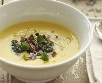Perfect parsnip soup for a cold winter's day