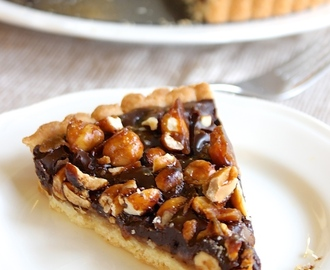 Nutty Chocolate Caramel Tart