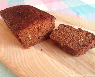 Ginger golden syrup loaf