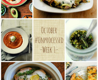 October #Unprocessed, Week 1