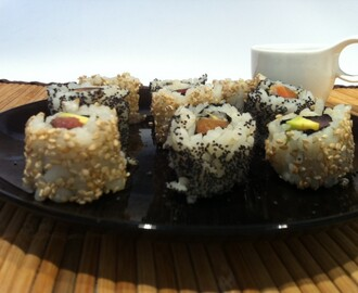 Temaki farcito (California roll)