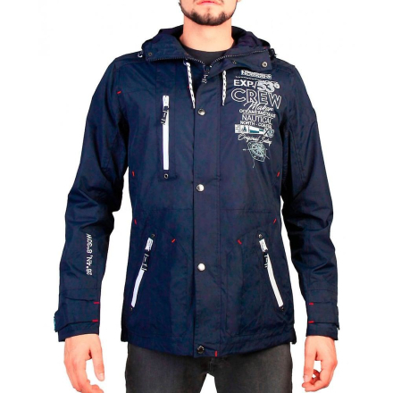 Geographical Norway Mens Navy Clement jacka