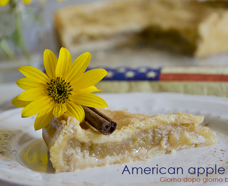 Torta di mele – American apples pie