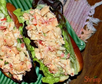 Shrimp Cocktail Salad Roll