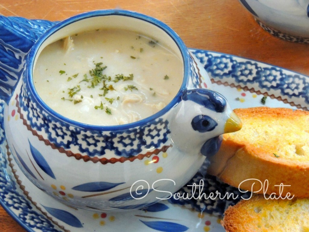 Simply Delicious Chicken & Rice Soup – and my lack of fashion sense