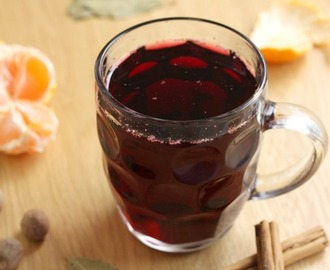 Slow cooker mulled wine