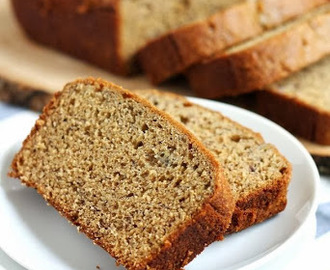 Torta di yogurt alla banana con farina integrale / Banana yogurt cake with whole wheat flour
