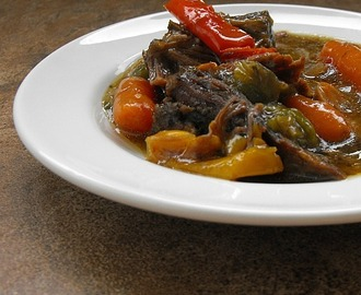 Bell Pepper Beef Stew #PepperParty and a Giveaway!