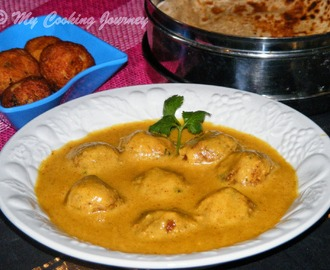 Kofta Noor Jahani – Vegetable and Paneer Koftas cooked in Creamy Gravy – BM # 33