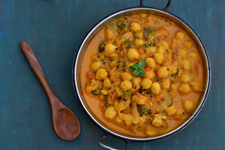 Chickpea Curry , South Indian Style | Channa Gravy / Channa Curry