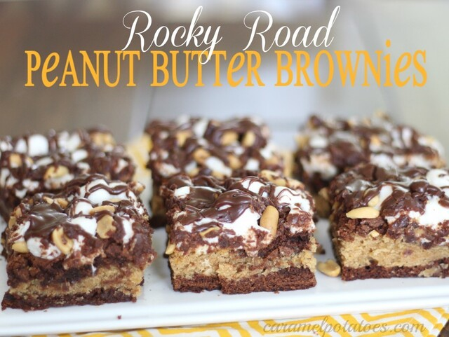 Rocky Road Peanut Butter Brownies
