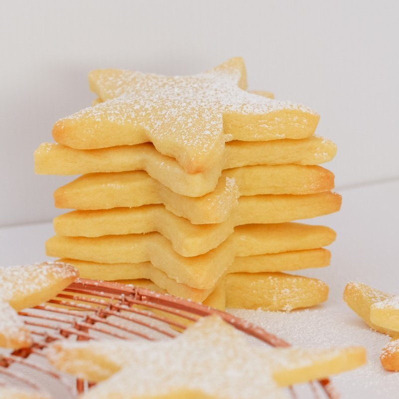 The Famous 3 Ingredient Shortbread Recipe