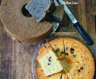 5 Assorted Chiffon Cakes Recipes - Part II