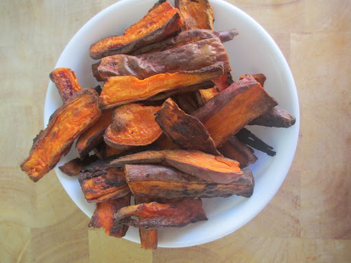 Low Fat Oven Baked Sweet Potato Fries